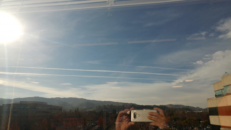 More Spraying Over Pleasanton and the Bay Area California