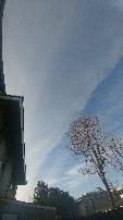 Streaky Sky Over Pleasanton, California 1/11/18